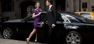 woman in limousine service
