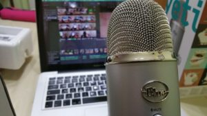 podcast recording